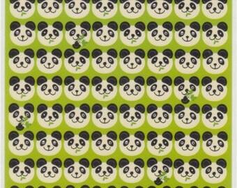 Panda Stickers - Japanese Panda Stickers - C5143-44