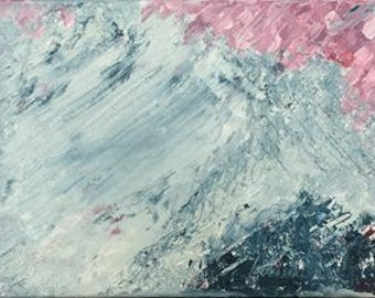 Original Oil on Canvas, Arctic Beach