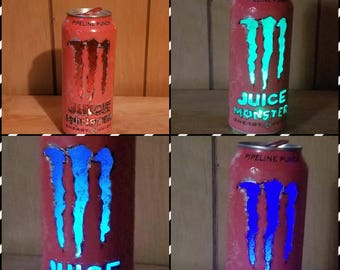 Monster Energy drink light,  pink