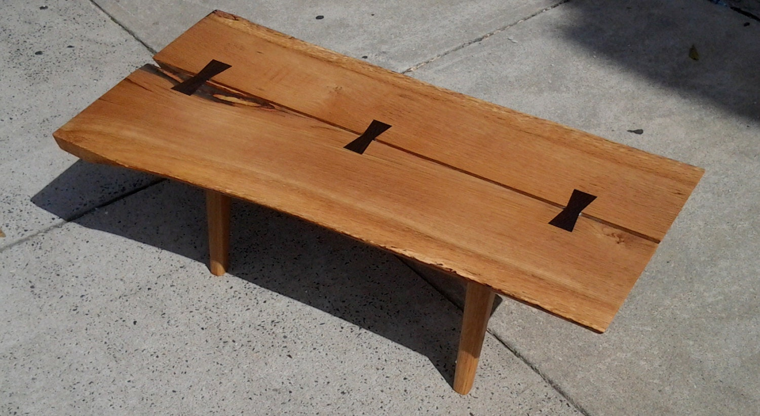 George Nakashima and Paul McCobb style Small Coffee Table Live