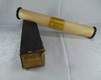 Vintage Player Piano Roll - Vocalstyle - I Used To Call Her Baby - 1940's