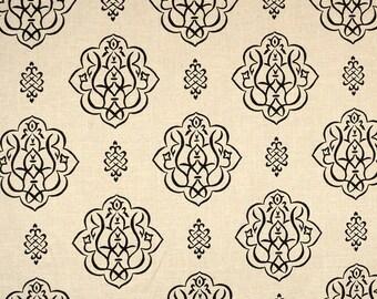03368 Black Fabricut Fabric