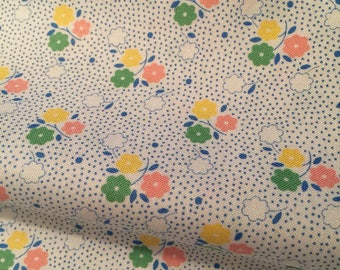 Little Flowers 30's Fabric - 30's Playtime by Chloe's Closet  for Moda 32586 15 -100% High Quality Cotton Yardage