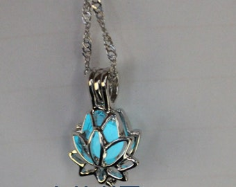 A beautiful flower of LOTUS light sterling silver