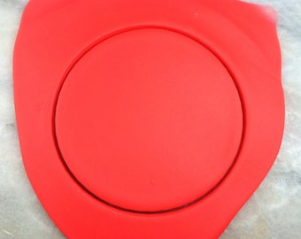 Circle Cookie Cutter - SHARP EDGES - FAST Shipping - Choose Your Own Size!