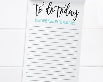 Notepad To do list funny to do list notepads jotter