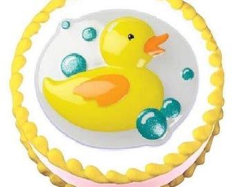 Yellow Duckie Pop Top - Plastic