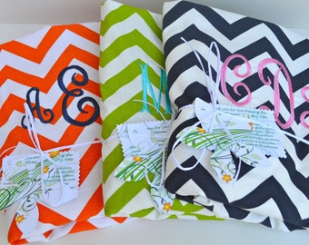 Monogrammed College Laundry Bag Many Fabrics with Strap grad gift