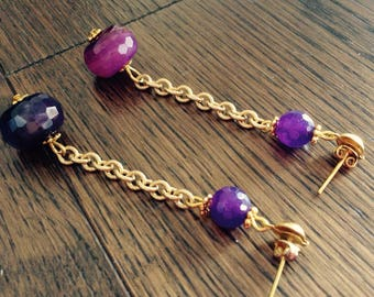 Amethyst total gold style