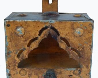 Former small Temple Metal 18x11x13cm Piece original craft India