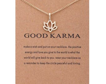 Good Karma & You Rule necklaces