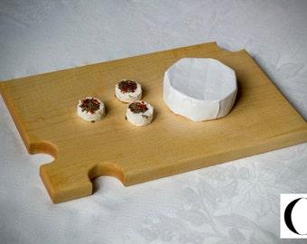 Maple wood cheese Board