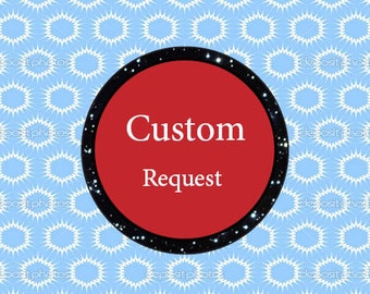 Custom request, add text / name to your listing