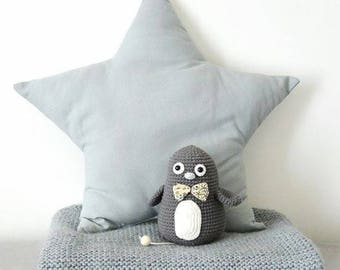 Tutorial crochet musical Penguin