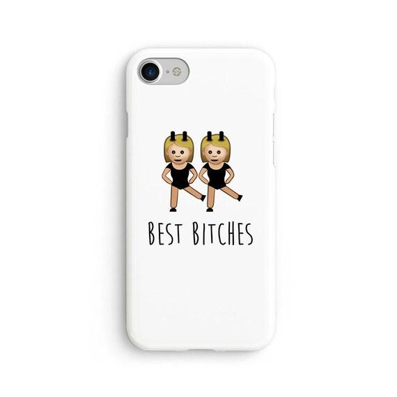 Best b*tches emoji  iPhone X case - iPhone 8 case - Samsung Galaxy S8 case - iPhone 7 case - Tough case 1P008