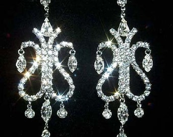 Style # 12324 Fountain Chandelier Earring
