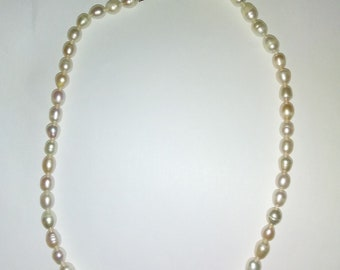 Natural Freshwater Potato Pearl Necklace