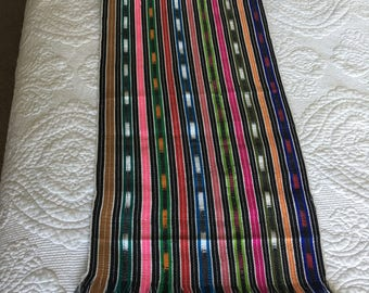 Beautiful hand-woven table runner from Guatemala
