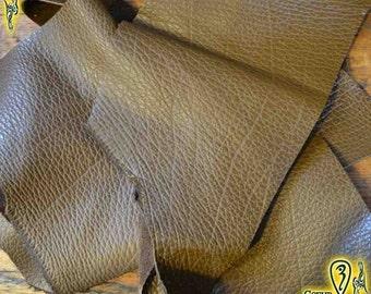 Medium Brown Leather Scrap