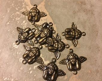 Vintage Angel Cherub Charms