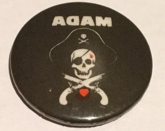 Adam Ant Vintage Badge