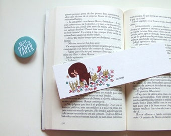Squirrel in the Meadow - Squirrel Bookmark Collection