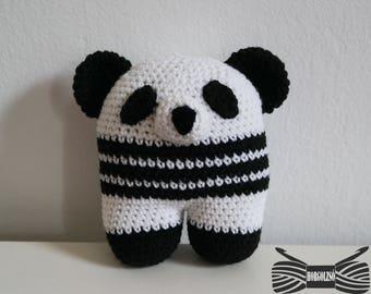 Crochet Cuddle Panda Amigurumi