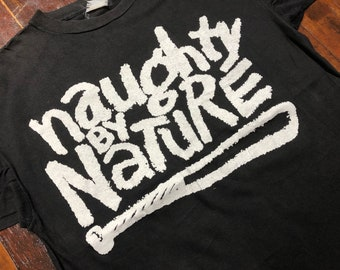 Vintage 90s Naughty By Nature O.P.P size M 2-side