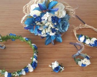 Bridesmaid  flower crown