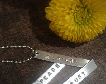 Word Of The Year Necklace