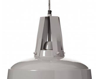 Hanging Lamp Flux gray