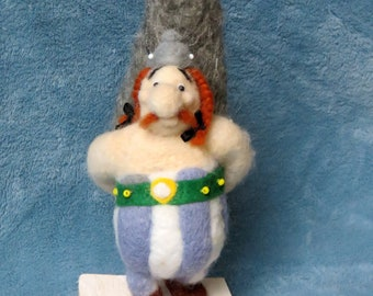 Famous Gauls felted wool.