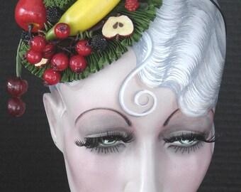 Little Carmen Miranda Fruit Cocktail Headpiece On Sale