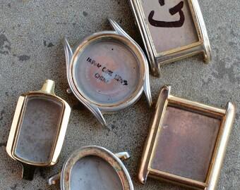 Wrist Watch Cases -- set of 5 -- D17