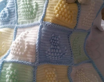 Crochet Kitten Blanket
