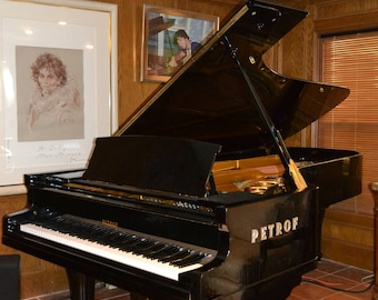 9'2 Petrof Concert grand piano Model I Mondial & free Steinway bench
