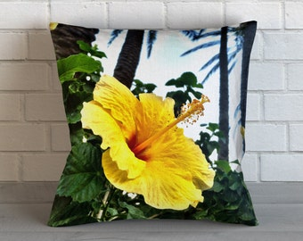 Tropical Flower & Palms