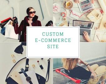 WordPress web design  mobile responsive e-commerce shop