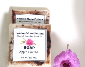 Apple Crumble Soap, Holiday Soap, Christmas, Winter, Gifts