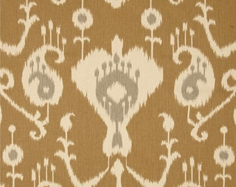 Handmade Window Curtain Valance in  Assorted Ikat,  (You choose your color) 100% Cotton