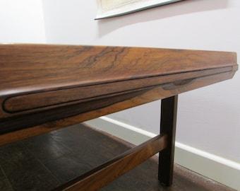 Large Danish Palisander-Rosewood Coffee Table