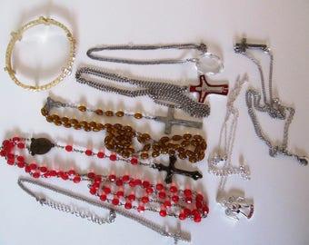 Religious Lot #1, Rosary Beads, Jewelry