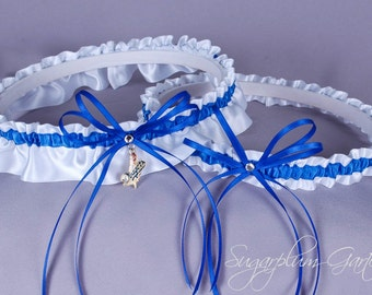 Los Angeles Dodgers Wedding Garter Set