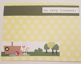 So Very Blessed, Picnic Card