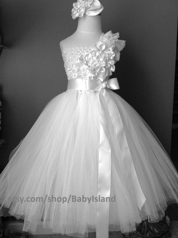 Mini Bride Flower Girl Dresses