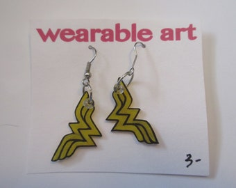 Wonder Women Earrings
