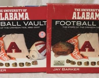 Alabama Football Vault Book