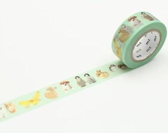 MT Ex bébé animaux Washi Tape, MT Masking Tape