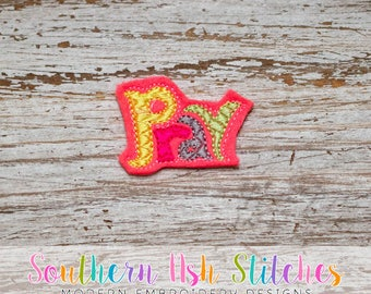 Pray Feltie Embroidery Digital Download