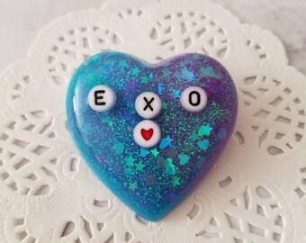 EXO Heart Kpop Pin